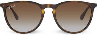 Ray-Ban RB4171 tortoise shell aviator sunglasses