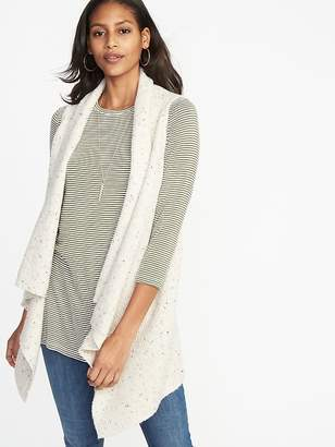 Old Navy Textured-Knit Sweater Vest for Women
