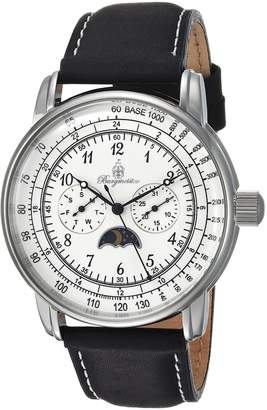 Burgmeister Men's BM335-182 Analog Display Quartz Black Watch