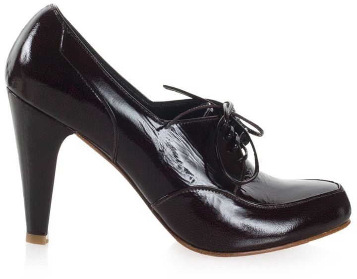 MARCELLO TOSHI - Patent leather lace-up shoes