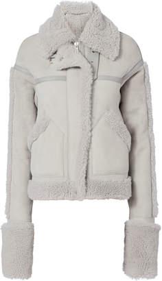 Victoria, Victoria Beckham Oversized Shearling Coat