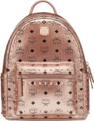 MCM Stark Backpack In Studded Outline Visetos