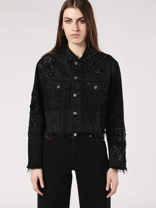 Diesel Denim Jackets 0KARE - Black - L