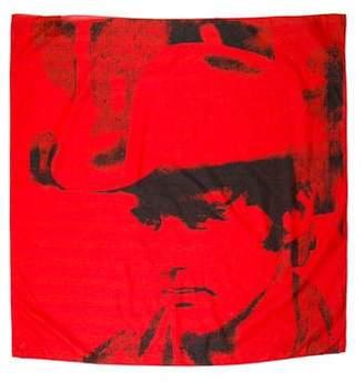 Calvin Klein Printed Square Scarf