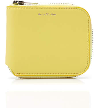 Acne Studios Leather Coin Wallet