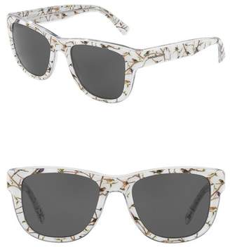 Dolce & Gabbana 54mm Square Solid Sunglasses