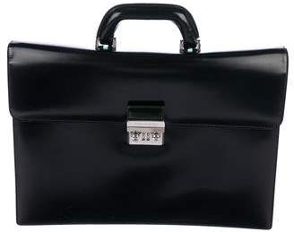 Tiffany & Co. Charles Leather Briefcase