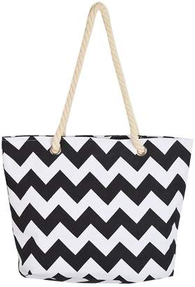 deac4690ba Haolong Multi-Purpose Large Striped Canvas Tote Shoulder Bag Handbag Beach  Bag