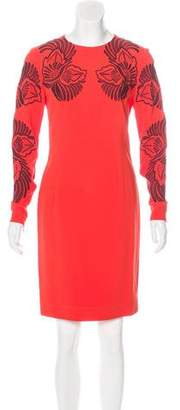 Stella McCartney Embroidered Sheath Dress