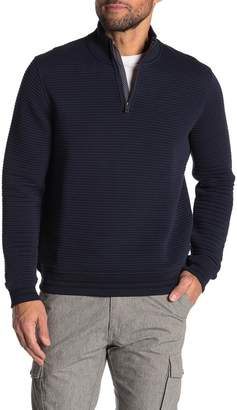 Ted Baker Textured Knit Half Zip Pullover