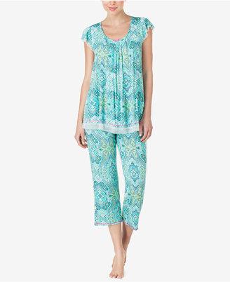 Ellen Tracy Printed Knit Pajama Top $42 thestylecure.com