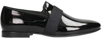 Lanvin Black Painted Loafers
