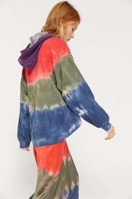 Urban Outfitters Sequoia Slouchy Tie-Dye Hoodie Sweatshirt