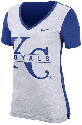 Nike Women Kansas City Royals Dri-fit Touch T-Shirt