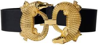 Tibi Alligator Belt