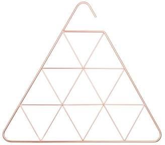 Pottery Barn Teen Umbra Pendant Triangle Scarf Hanger, Rose Gold
