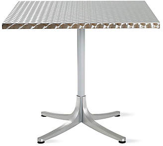 Design Within Reach Inox Table, Square, Silver