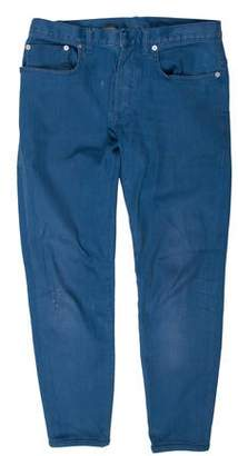Christian Dior Skinny Flat Front Jeans