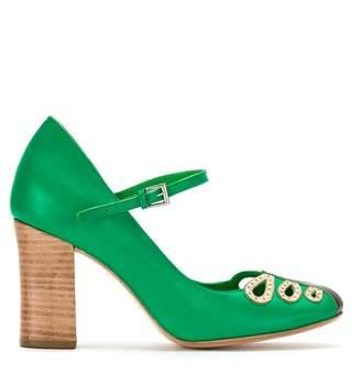 Sarah Mary Jane Chofakian Pompes - Vert GIc28