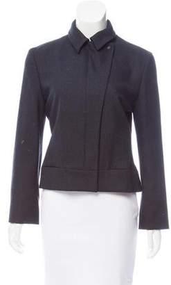 Calvin Klein Collection Zip-Up Wool Jacket