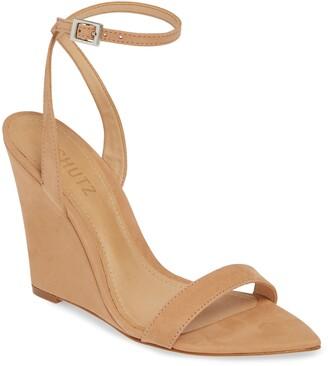 Schutz Wedge Sandal
