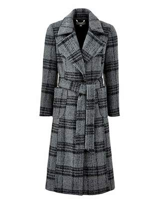 Fashion World Wool Fit and Flare Coat