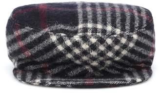 at mytheresa · Isabel Marant Naly plaid wool hat ba7b84ae1c78