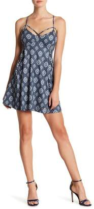 Sadie & Sage Patterned Fit & Flare Dress