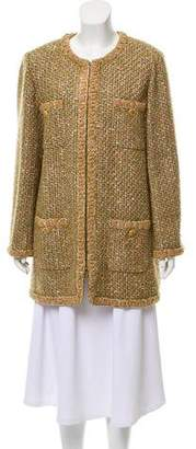 Chanel 2016 Paris-Rome Fantasy Tweed Coat