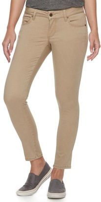 Sonoma Goods For Life Petite SONOMA Goods for Life Sateen Midrise Skinny Pants