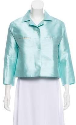 Ter Et Bantine Silk Button-Up Jacket
