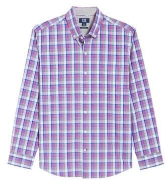 Cutter & Buck Zachary Non-Iron Plaid Sport Shirt