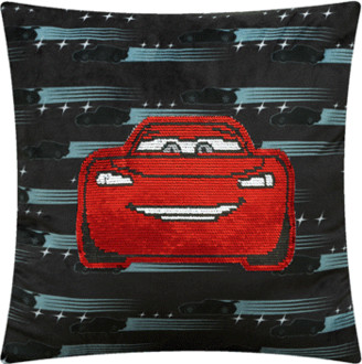 ONLINE Cars Sequin Throw Pillow, Red, Multiple Colors