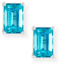 Suzanne Kalan KALAN by 14k Emerald-Cut Petite Stud Earrings
