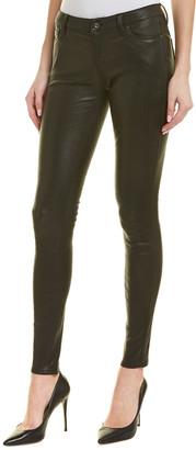 AG Jeans The Legging Super Black Leather Super Skinny Leg