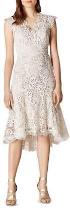 Karen Millen Floral Lace Trumpet Dress