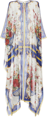 Dolce & Gabbana Printed Cotton and Silk-Blend Kaftan $1,375 thestylecure.com