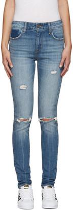 Levi's Blue 721 Jeans $130 thestylecure.com