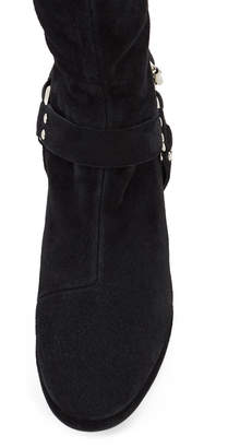 Opening Ceremony Frida Suede Harness Over-The-Knee Boots