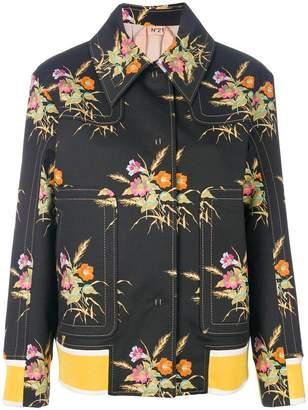No.21 floral designer jacket