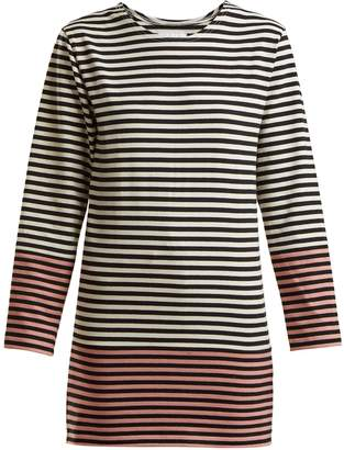 MYAR Striped cotton-jersey T-shirt