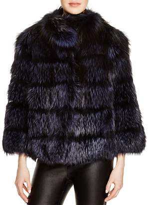 Maximilian Furs Maximilian Nafa Fox Fur Coat