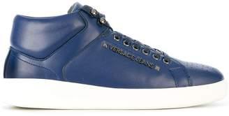 Versace logo detail sneakers