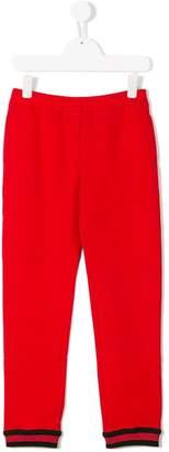 Gucci Kids GG Web leggings