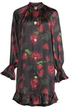Mother of Pearl Esme Rose Print Dress