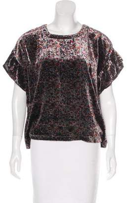Current/Elliott Floral Print Top