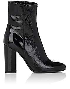 Barneys New York Women's Patent Leather Ankle Boots - Black