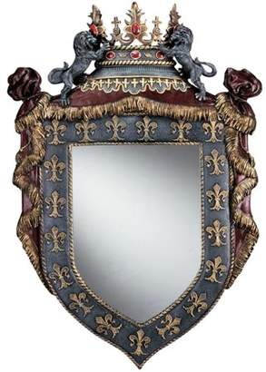 Toscano Design Chateau St. Roche Sculptural Wall Mirror