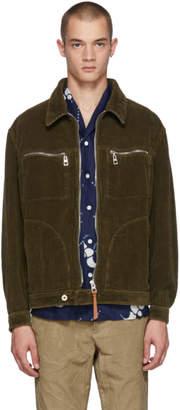 Loewe Khaki Corduroy Jacket