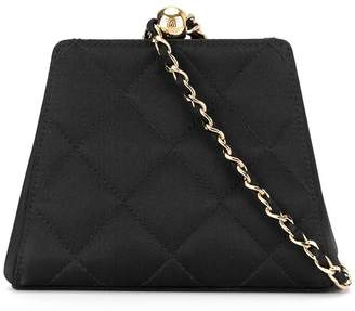 Chanel Pre-Owned CC logos chain clasp tote